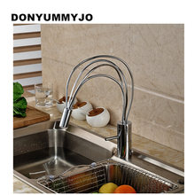 New Arrival Tall bathroom sink faucet mixer Cold and Hot Kitchen Tap Single Hole Water Tap Kitchen Faucet Torneira Cozinha