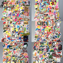600pcs/lot mixed Not repeating Stickers Retro style Direwolf Diamond Dogeon Suitcase Laptop Wall decor waterproof DIY decals(China)