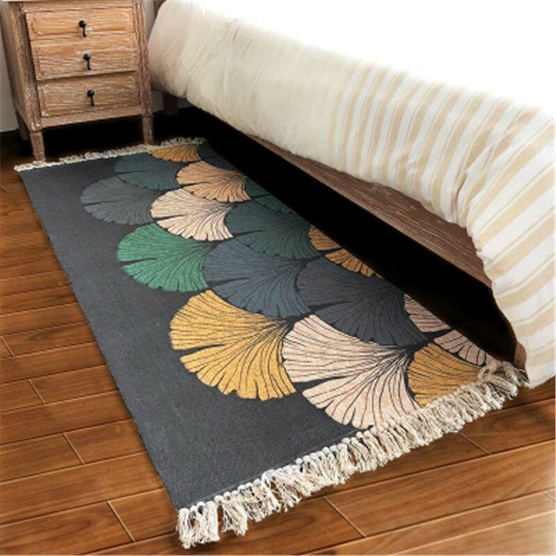 70X160 cm coton Design créatif tapis doux pour salon chambre tapis maison tapis plancher porte tapis tapis chambre Simple tapis