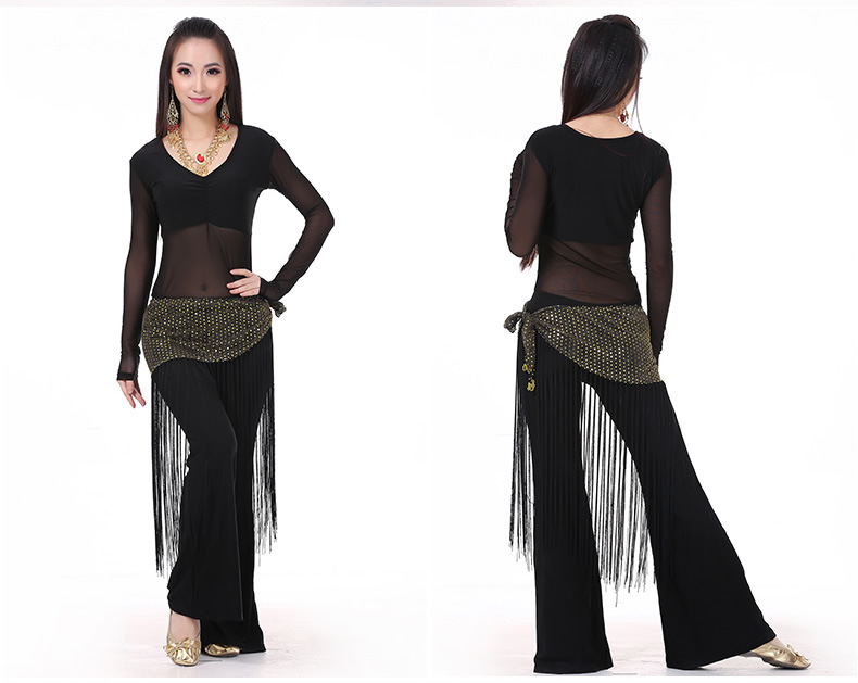 Show details for 2016 Belly Dance Costume Set Professional Topamppantsamphip Scarf Indian Dress Lady Belly Dancing Dance Wear Practice\/Performance