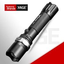 YAGE Flashlight Cree Lantern Tactical Rechargeable Led flashlights Zoomable Flashlight 18650 Lampe Touche Linternas Led Lamp