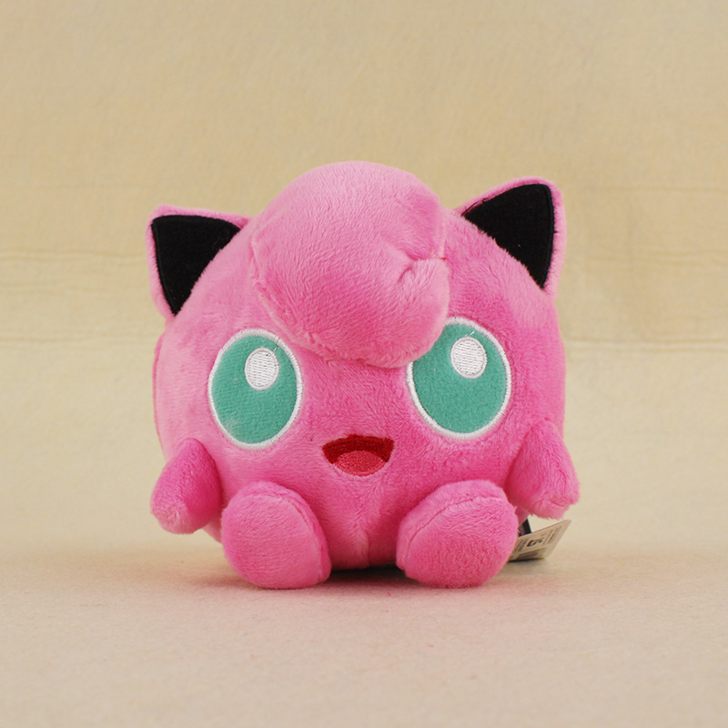 11cm Go Jigglypuff Plush Toys Cute Stuffed Toy Doll For Kids Birthday Christmas Gift