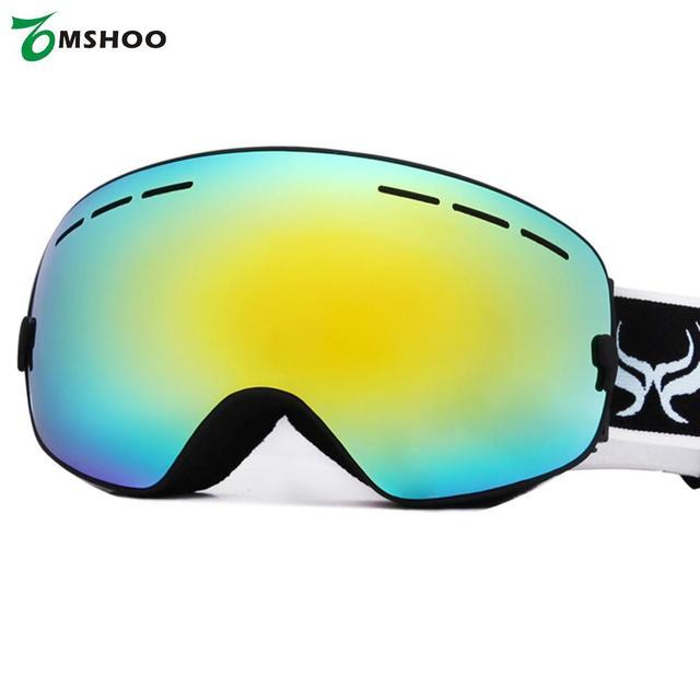 Noir Plein cadre lentille claire Mountain Ski Lunettes de soleil pour unisexe 5FHe6J