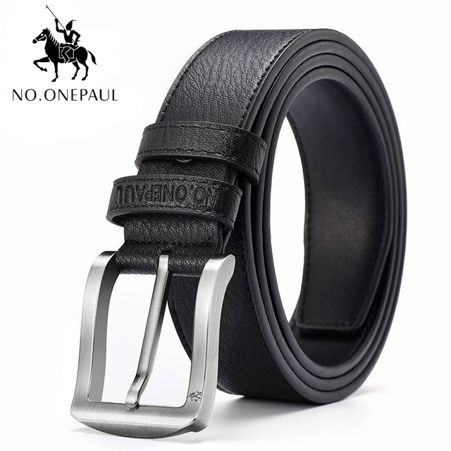 High Quality cow genuine leather luxury strap male belts 3