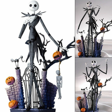 SCI-FI Revoltech Series NO.005 The Nightmare Before Christmas Jack Ske