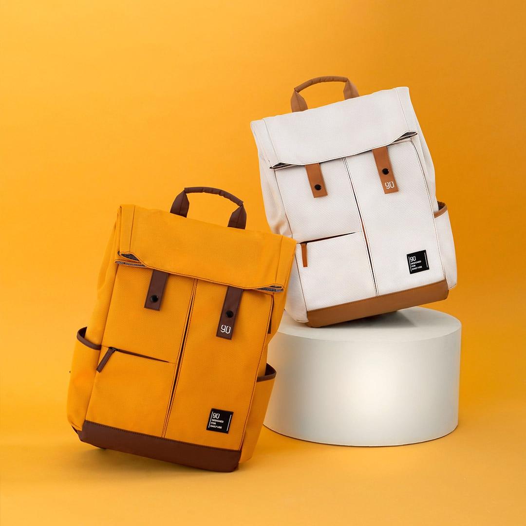 Xiaomi Mijia Youpin 90FUN Fashion Youqi Energy College Bag Travel Sport Leisure Back pack Waterproof Large