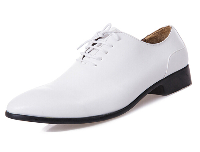 get cheap mens formal white shoes aliexpress