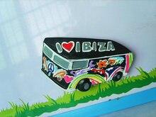 I love Ibiza bus fridge stickers