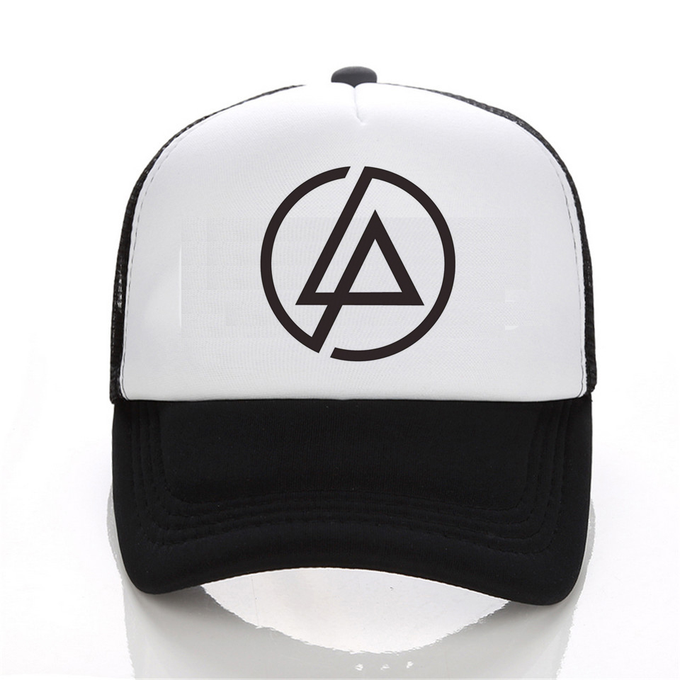 linkin park Snapback mesh baseball     trucker cap men net cap hip hop Visor Sunbonnet Loves hat for women unisex