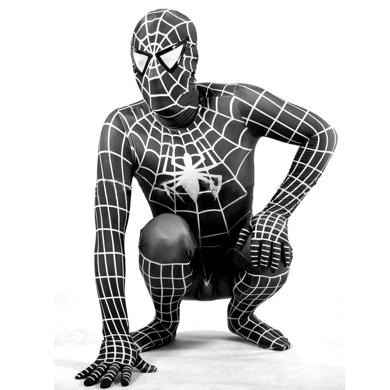 Ensnovo Spiderman Costume Adult Kids Spandex Cosplay Zentai Suits Lycra Bodysuits for Cosplay Men Women Anime Full body Suits