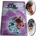 Crazy Tattoo Supply Wholesale New Pro Lady's Tattoo air brush tattoo stencil book Flash Magazine a4 sketch Free Shipping