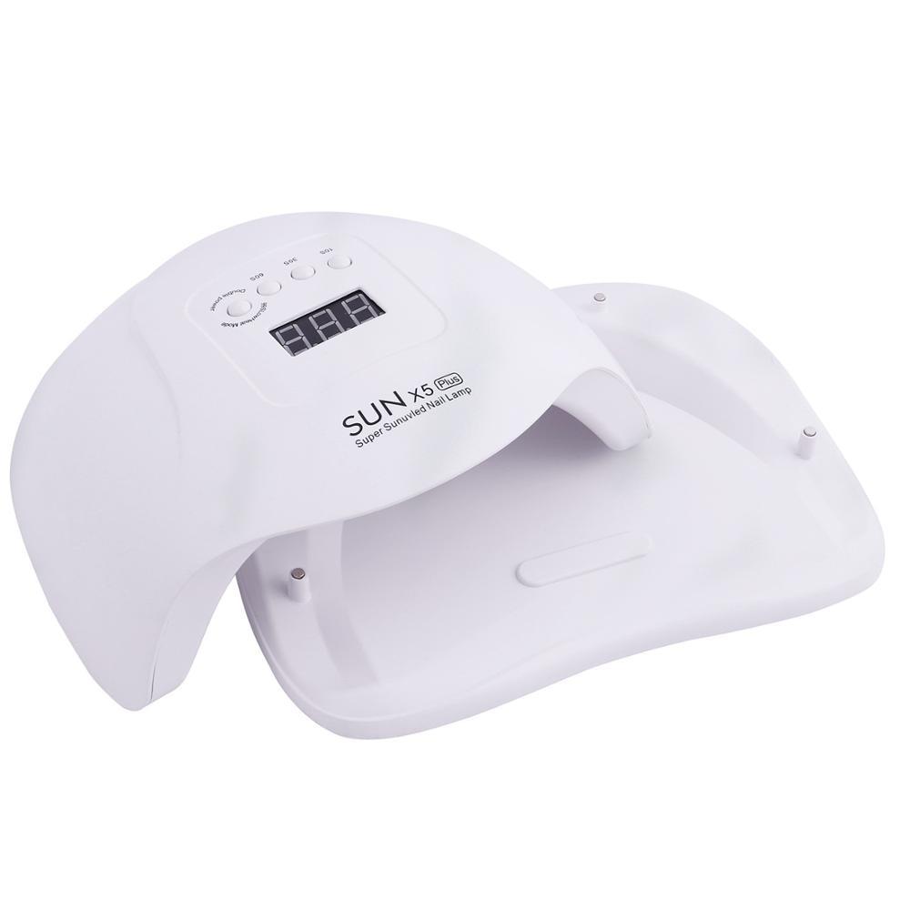 SUN X5 MAX 80W LED UV Lamp Nail Dryer 45 LED Professional For Drying Gel Polish 10/30/60/99s Timer Auto Sensor Nail Art Machine 6