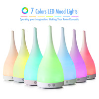 Sensky 500ml 300ml LED Light 7 Color Change Ultrasonic Aromatherapy Essential Oil Aroma Diffuser Air Humidifiers