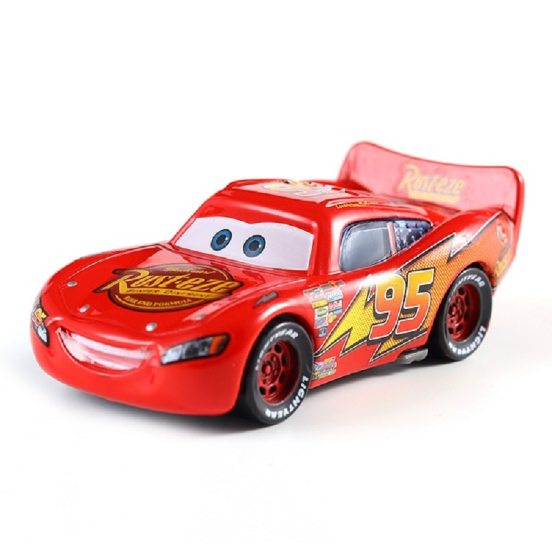 Image 2 - Disney Pixar Car 3 Lightning McQueen Racing Family Family 39 Jackson Storm Ramirez 1:55 Die Cast Metal Alloy Children's Toy Car-in Diecasts & Toy Vehicles from Toys & Hobbies