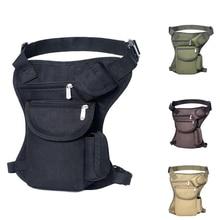 Tactical Gear Drop Leg Bag Hunting Bag Nylon Multi-functional Waist Belt Bag Fanny Belt Pouch Hiking Camping Thigh Bag