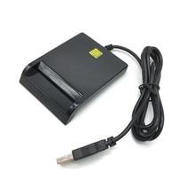 ISO7816 контакт EMV eID смарт-чип считыватель карт писатель программист# N68 CAC смарт-ридер+ Тестовая карта+ CD драйвер