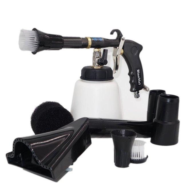 NEW Z 020 air regulator high quality bearring tube tornado gun combo vacuum adapter(2in1 clearn &vacuun )(1whole tornador gun)