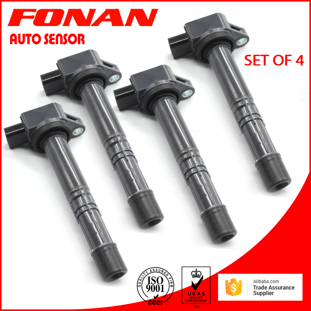 4PCS SET OF 4 NEW IGNITION COIL ON PLUG FOR HONDA ACURA Accord Civic CRV Integra Odyssey 30520PNA007 30520PNC004 30520RRA007 kingsun rear adjustable ball joint camber control suspension arm kit for 1990 1997 honda accord acura cl tl1996 1999 blue
