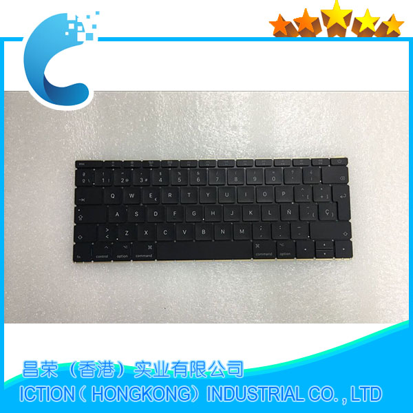 Original New 2016 yeas A1534 SP Spainish Keyboard For MacBook Retina 12