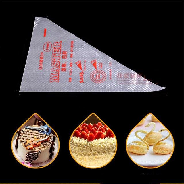 50 pz Grande Formato Del Fondente Cupcake Dessert Decoratori Sacchetto di Glassa della Pasticceria Piping Punte di Cottura Russia Ugelli Biscotti Torta Alla Crema di Strumenti di