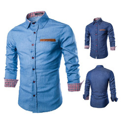 2017 new men shirts business long sleeve turn down collar long sleeve shirt mens dress male.jpg 250x250