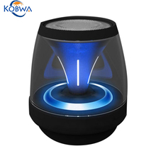 Mini Portable LED Colorful Bluetooth Speaker Wireless Bass Music Outdoor Loudspeaker Box For Smartphone Tablet PC With Mic