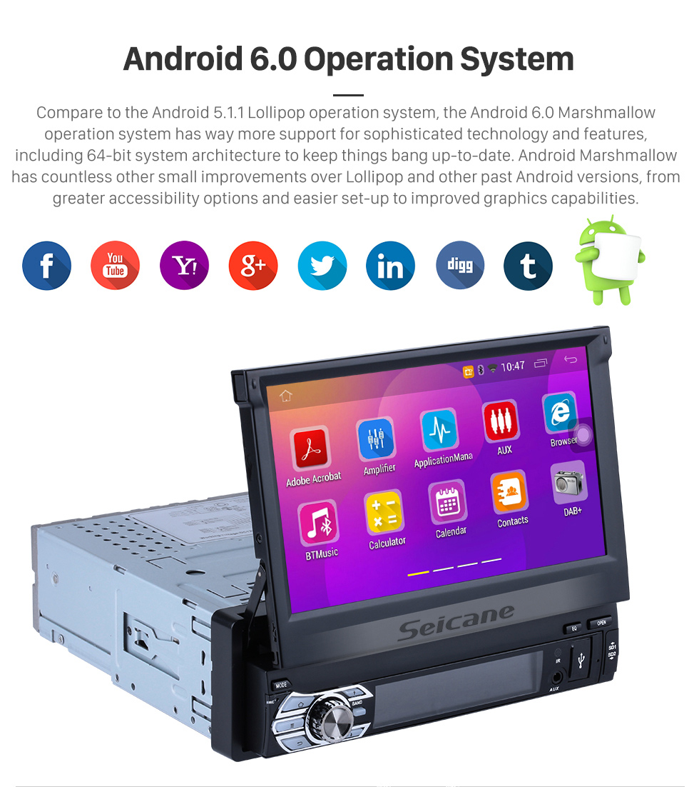 DVD Stereo Android Bluetooth 6