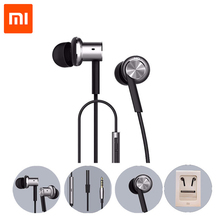 Original XIAOMI Hybrid Piston Dual Driver Earphone Stereo In-Ear Circle Iron Dynamic Balanced-Armature Mic For Xiao Mi Android