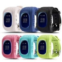 Q50 GPS Smart Kid Safe Reloj Inteligente Llamada SOS Localizador Monitor de localizador Rastreador para Perdida Anti Del Niño Hijo Bebé de La Muchacha