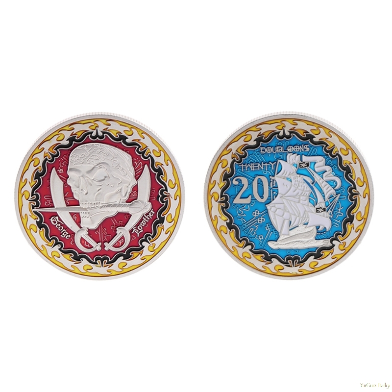 2018 Meaningful Commemorative Coin Famous Pirate George Storage Collection Arts Gifts Souvenir Noncurrent Coin