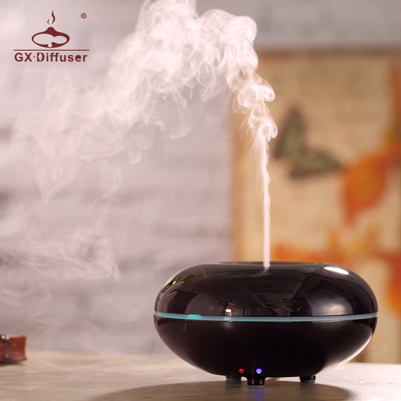 GX.Diffuser Changing Color Aromatherapy Air Humidifier Ultrasonic Essential Oil Aroma Diffuser LED Mist Maker for Home Appliance 2016 new hot sale led light aromatherapy air humidifier essential oil aroma diffuser ultrasonic mist maker for home appliance