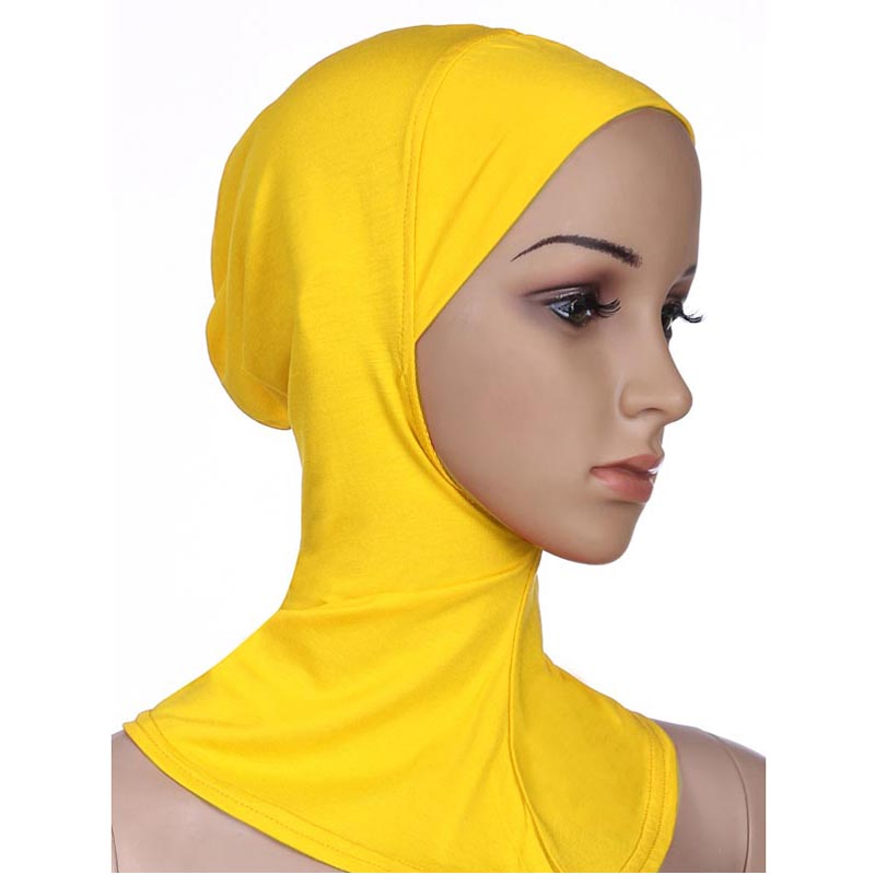 Arab Hjiab Hat Muslim Womens Modal Soft Plain Hijabs in Islamic Clothing from Novelty Special Use