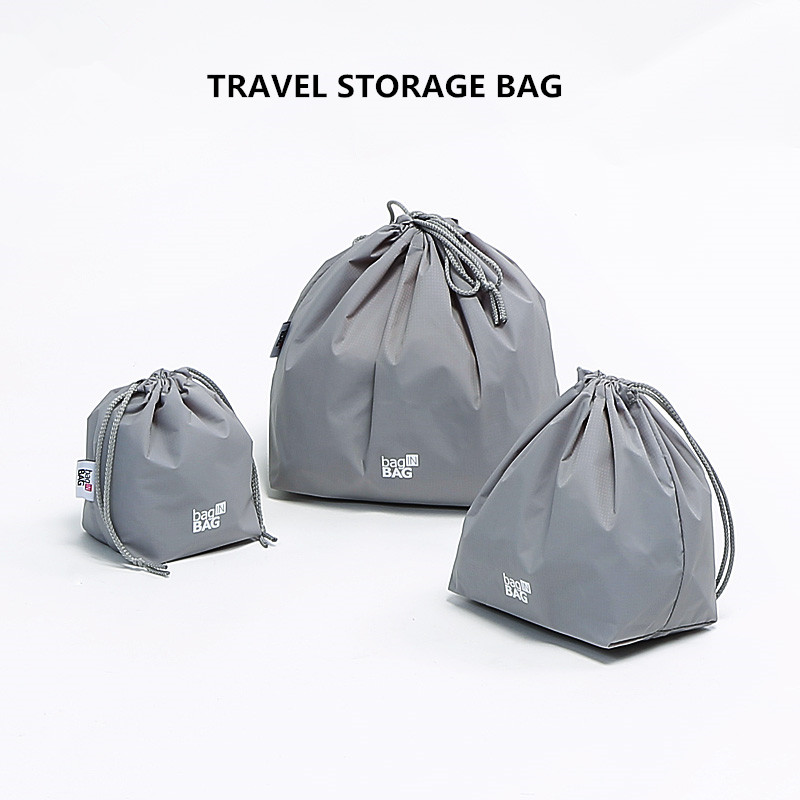 Storage Boxes & Bins Fulllove 2017 Storage Bag Folding Travel Large Capacity Totes Solid Color Dustproof With Handle Zipper Lock Organizer Shoes Bag