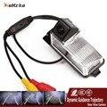 EeMrke HD CCD Da Câmera De Backup Para Nissan Pulsar 2009 ~ N16 Orientação Dinâmica inteligente Trajetória Faixas Câmera