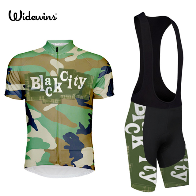db350e252 2017 widewins Bike Cycling Clothing Cycle Cycling Jersey Breathable Bicycle  Sports wear Roupa Ciclismo camouflage 7170