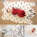 2016 Hot Sale Da Moda Cobertor Esteira Do Jogo do bebê, suportar Cobertor Do Bebê Cobertor Tigre Animais Tapete, Jogar Esteiras De Urso quente Outono Inverno