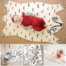Лидер продаж Модные детское одеяло игровой коврик медведь одеяло тигренка одеяло животных ковер, теплый медведь игровые коврики осень-зима
