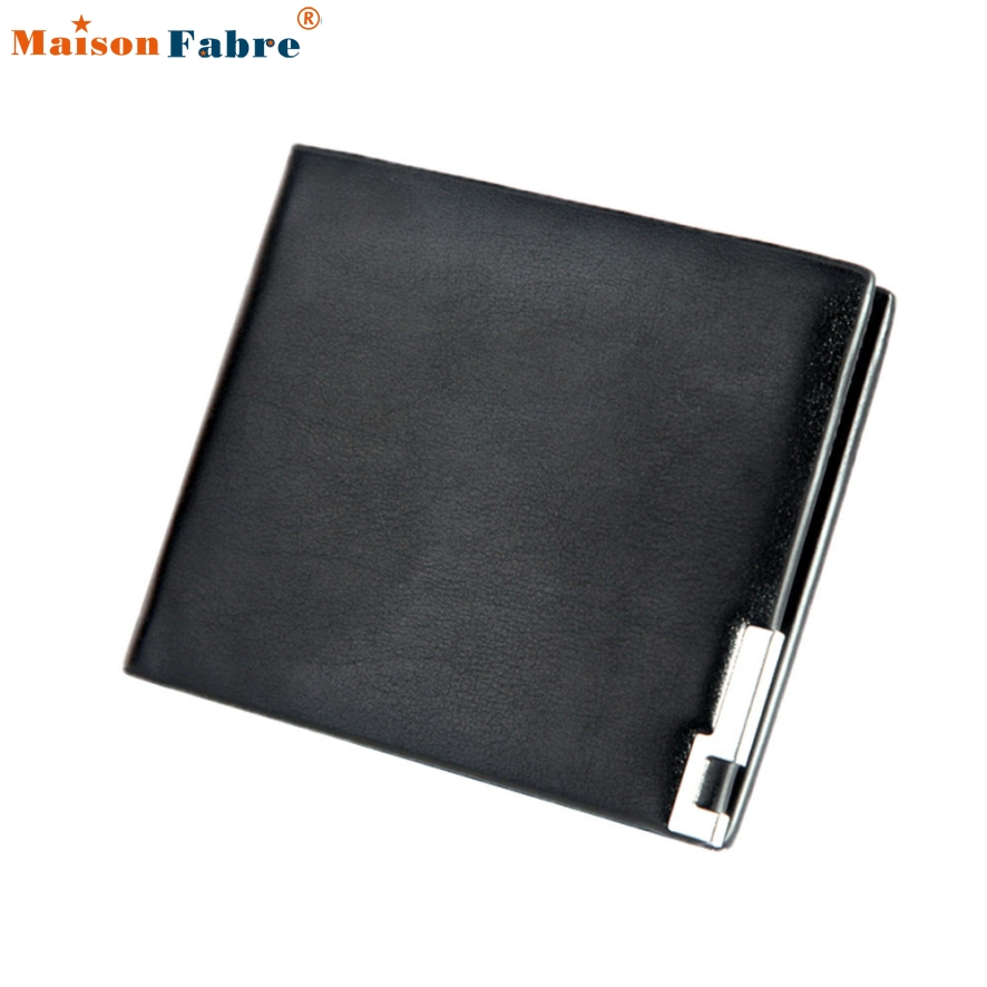 New Fashion Men Leather Business Wallet Men Coin Pocket Long Men Purse Card Holder Male Walle Portfolio Cartera Maison Fabre