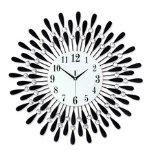 hot deal buy free shipping  one generation of wall clocks, living room simple clocks, wall clocks, wall clocks, european silent quartz clocks