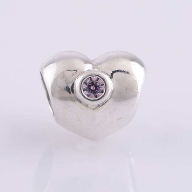 Pandora Sparkling Heart Charm