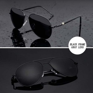 Image 2 - Los hombres de la marca diseñador gafas piloto polarizado gafas de sol, gafas, gafas de sol masculino para hombre gafas conductor