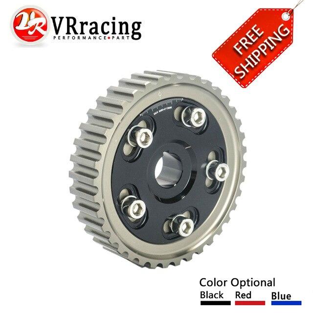 все цены на FREE SHIP FOR HONDA SOHC D15/D16 D-SERIES ENGINE Adjustable Cam Gear Alloy Timing Gear CAM PULLEY PULLYS GEAR 1PCS онлайн