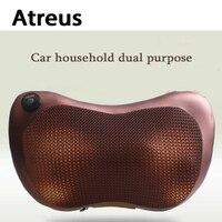 Atreus Car Styling 1pcs Protect Neck4/8 balls Massage Pillows For Opel Astra H J G Insignia Mokka Corsa D Vectra C Zafira Meriva