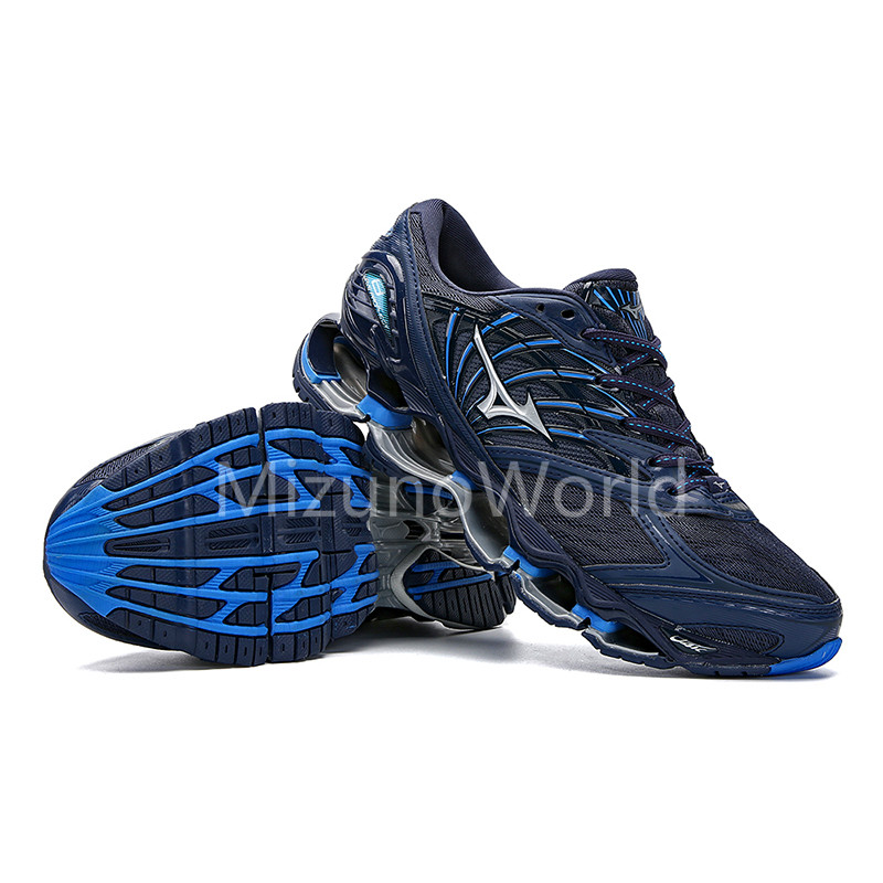 Mizuno Wave Prophecy 8 Professional Breathable Cushioning Sport Blue Basketball Shoes Runnning Shoes Men Sneakers Free ShippingMizuno Wave Prophecy 8 Professional Breathable Cushioning Sport Blue Basketball Shoes Runnning Shoes Men Sneakers Free Shipping