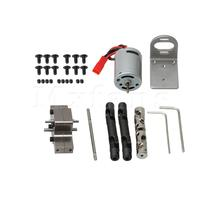 Mxfans Motor Transfer Gearbox Set Middle Drive Shaft Central Gearbox 370 Motor Base for WPL RC1:16 B14 B16