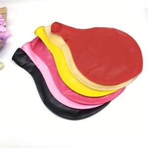 Image 3 - Globos de látex grandes y coloridos de 36 pulgadas, globo de alta calidad hinchable para boda, fiesta de cumpleaños, decoración, 1 ud.