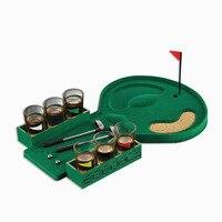 Golf Wine Cup Bar Game Supplies Mini Table Golf Game Table Set Bar Drinking Game Mini Dart Wine