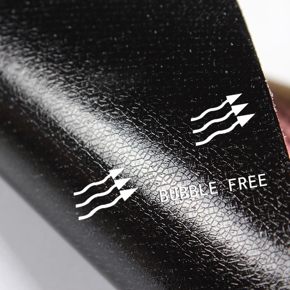 Купить с кэшбэком AuMoHall 30cmx152cm Chameleon Carbon Fiber Vinyl Film Wrap Car Interior Styling Color Change Car Sticker Sheet