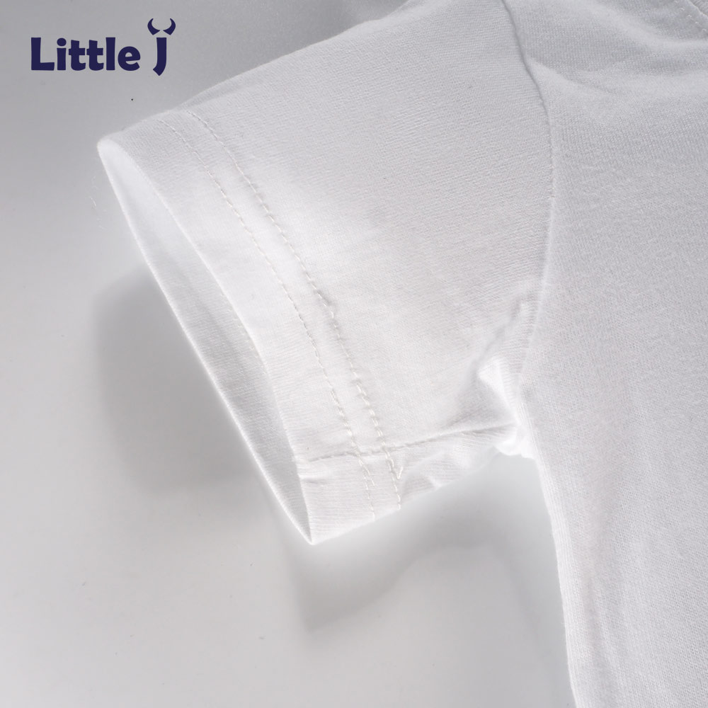 Clearance-Summer-Love-Letter-Girls-T-Shirt-Short-Sleeve-Childrens-T-shirt-Cotton-Tee-Top-Cartoon-Boys-Clothes-White-Kid-T-Shirt-3