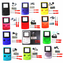 Shell Housing Case for Nintendo for GBC for GameBoy Color Console + Screwdriver + Rubber Pad